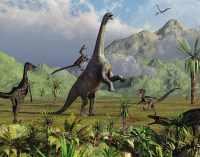 В Китае нашли следы динозавров, живших 120 миллионов лет назад