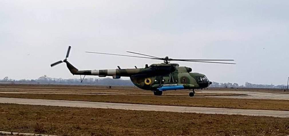 В Одесский военный госпиталь вертолетом эвакуировали двух военнослужащих, – волонтер Танцюра. ФОТО