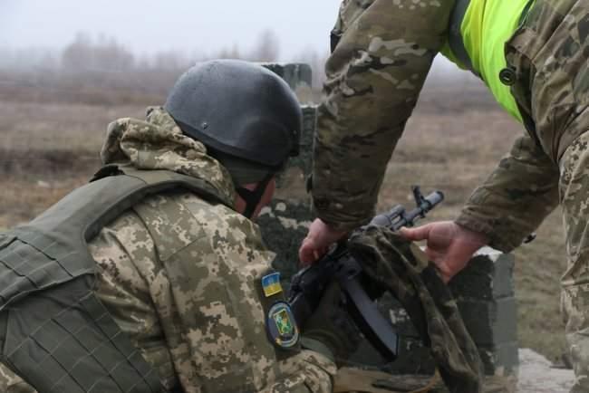 Учебные сборы с бойцами территориальной обороны прошли на Харьковщине 02