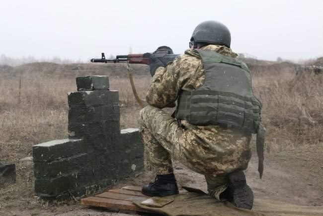 Учебные сборы с бойцами территориальной обороны прошли на Харьковщине 04