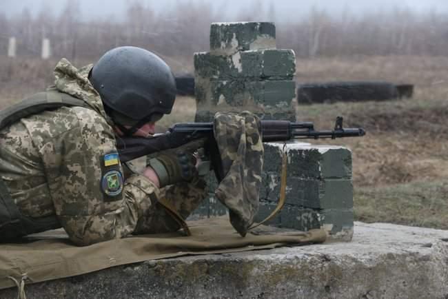 Учебные сборы с бойцами территориальной обороны прошли на Харьковщине 05