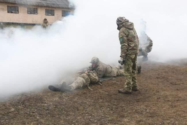 Учебные сборы с бойцами территориальной обороны прошли на Харьковщине 06