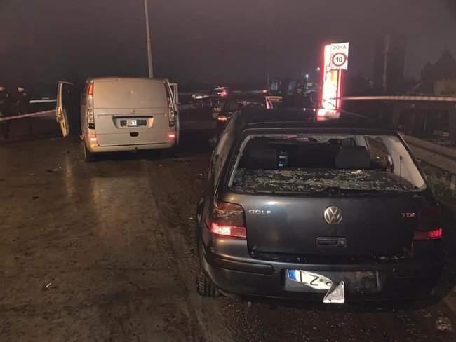 На пункте весового контроля на трассе Одесса-Киев произошел вооруженный конфликт, есть раненые 02