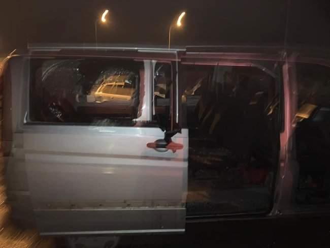 На пункте весового контроля на трассе Одесса-Киев произошел вооруженный конфликт, есть раненые 04