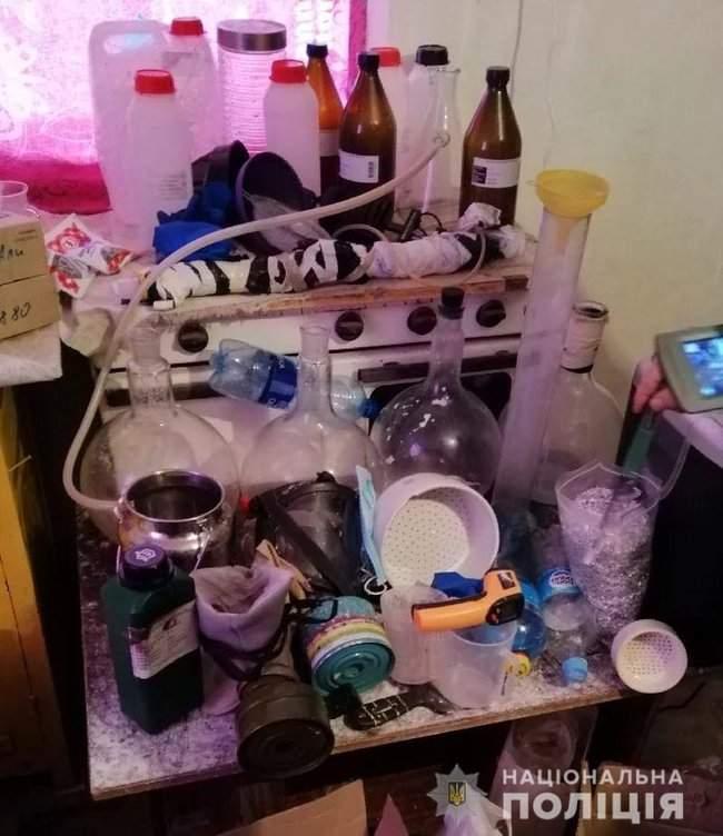 Наркотики на полмиллиона гривен изъяты полицейскими в Херсоне 03