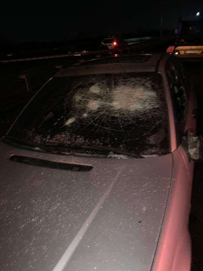 На пункте весового контроля на трассе Одесса-Киев произошел вооруженный конфликт, есть раненые 03