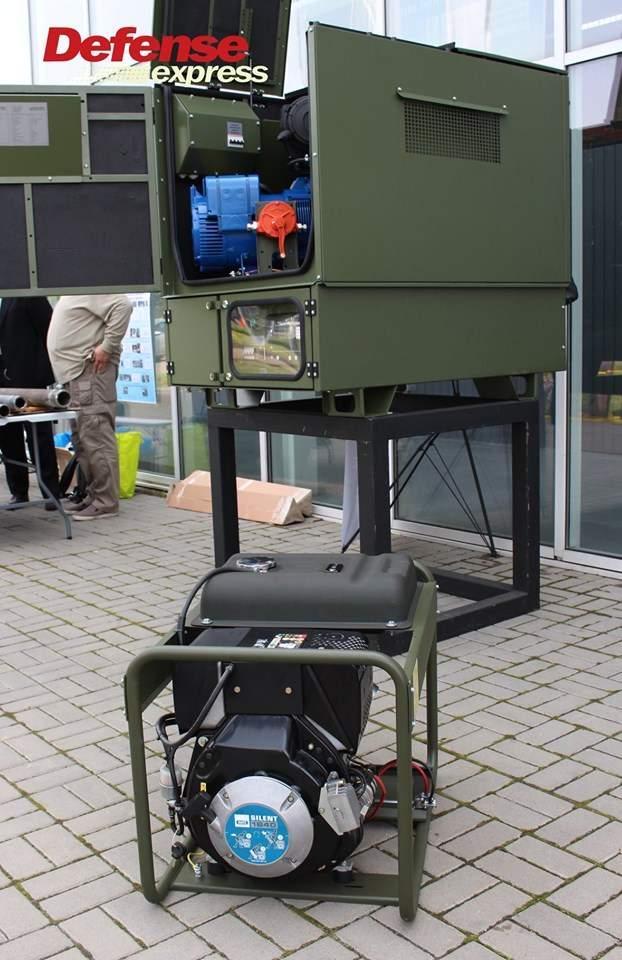 Танковая пушка, 120-мм миномет Бучарда, РЛС, антидроновские винтовки и цифровой солдат: в Броварах представили новые образцы от украинских частных оборонных компаний 12