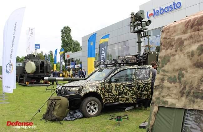 Танковая пушка, 120-мм миномет Бучарда, РЛС, антидроновские винтовки и цифровой солдат: в Броварах представили новые образцы от украинских частных оборонных компаний 10