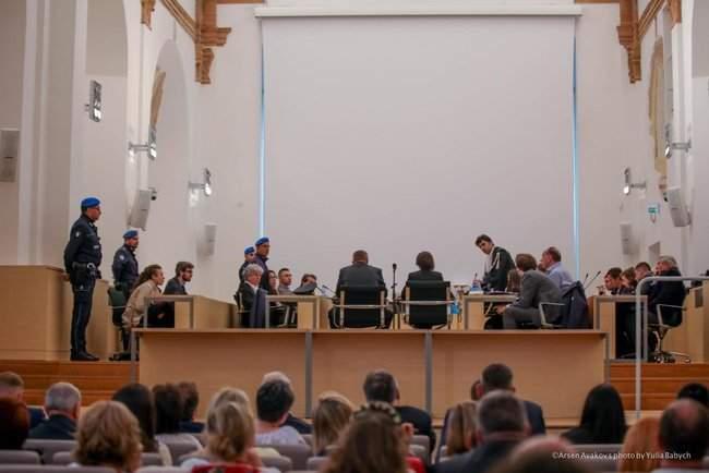 Военнослужащие Нацгвардии выступили в защиту гвардейца Маркива в итальянском суде 02