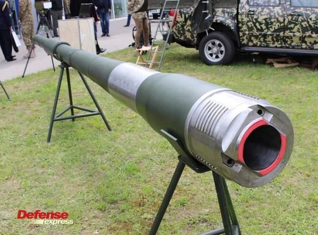 Танковая пушка, 120-мм миномет Бучарда, РЛС, антидроновские винтовки и цифровой солдат: в Броварах представили новые образцы от украинских частных оборонных компаний 02