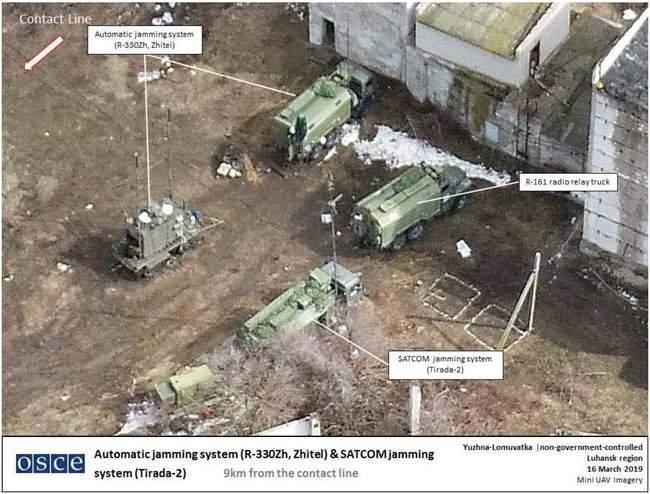 РФ испытывает на оккупированном Донбассе систему орбитального подавления Тирада-2, - InformNapalm 02