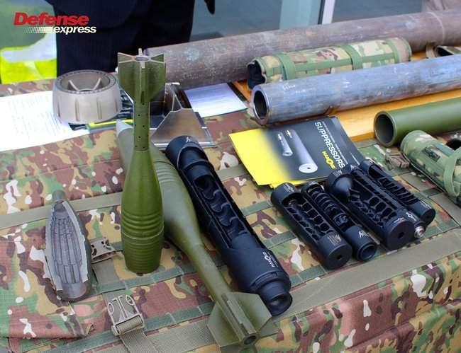 Танковая пушка, 120-мм миномет Бучарда, РЛС, антидроновские винтовки и цифровой солдат: в Броварах представили новые образцы от украинских частных оборонных компаний 06