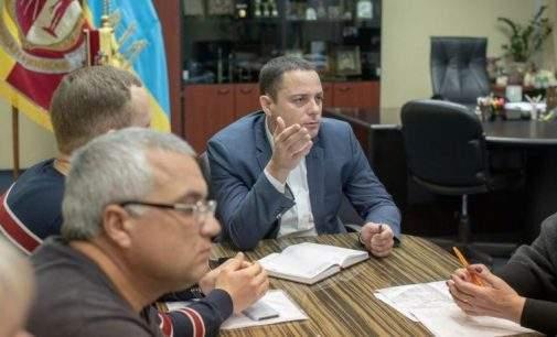 Міський голова Кам'янського зустрівся з керівництвом ОСББ і ЖБК