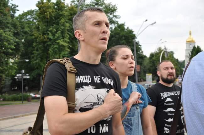 49 пар берцев: в Киеве почтили память воинов, погибших 5 лет назад при крушении ИЛ-76 07