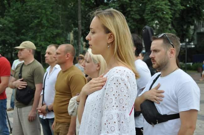 49 пар берцев: в Киеве почтили память воинов, погибших 5 лет назад при крушении ИЛ-76 09