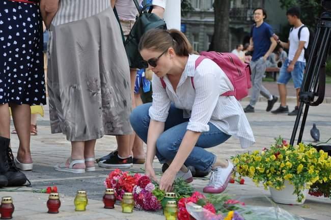 49 пар берцев: в Киеве почтили память воинов, погибших 5 лет назад при крушении ИЛ-76 14