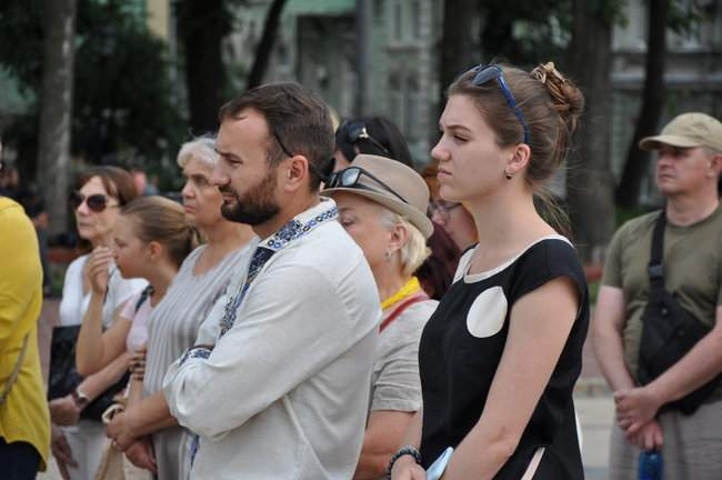 49 пар берцев: в Киеве почтили память воинов, погибших 5 лет назад при крушении ИЛ-76 16