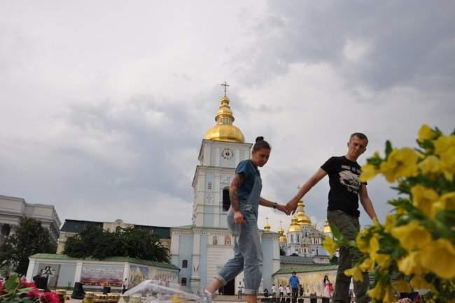 49 пар берцев: в Киеве почтили память воинов, погибших 5 лет назад при крушении ИЛ-76 19