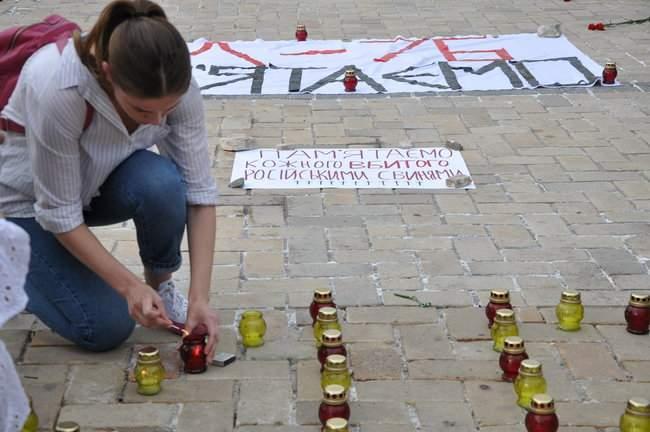 49 пар берцев: в Киеве почтили память воинов, погибших 5 лет назад при крушении ИЛ-76 20