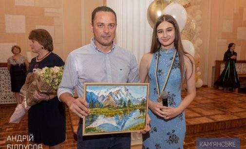 Випускникам Кам'янського вручили медалі