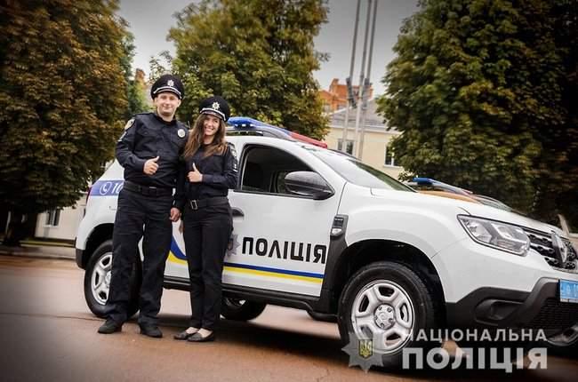 Князев вручил полицейским Хмельнитчины ключи от 18 новых служебных автомобилей 02