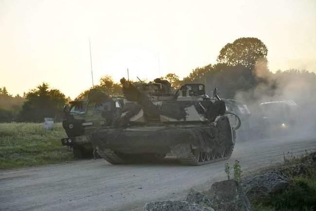 Рота 93-й ОМБр в составе механизированного батальона США принимает участие в международных учениях Combined Resolve-XII 11