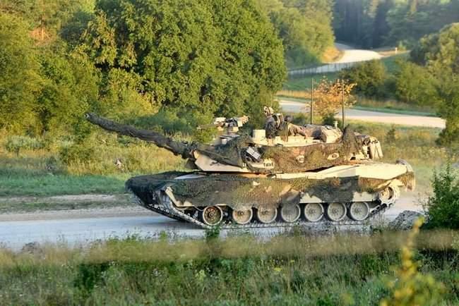 Рота 93-й ОМБр в составе механизированного батальона США принимает участие в международных учениях Combined Resolve-XII 13
