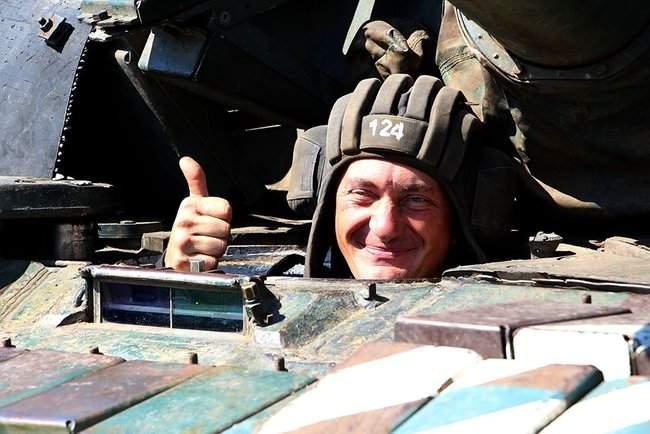 Учения танковых подразделений прошли на одном из полигонов Донетчины, - Минобороны 01