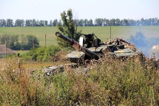 Учения танковых подразделений прошли на одном из полигонов Донетчины, - Минобороны 04