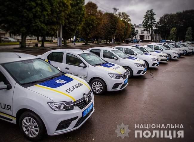 Князев вручил полицейским Хмельнитчины ключи от 18 новых служебных автомобилей 05