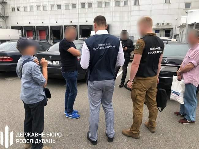 Сотрудник Киевской таможни задержан на взятке 450 долл. за оформление автомобиля, - ГБР 01