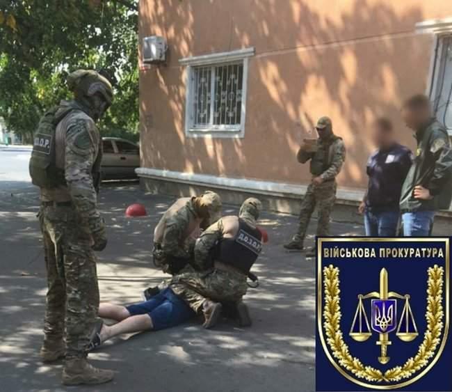 Пограничник задержан на Одесчине при продаже наркотиков сослуживцу, - военная прокуратура 01