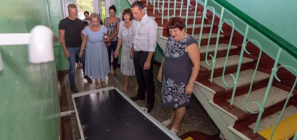 У Кам'янському відремонтували Терцентр соціального обслуговування Дніпровського району
