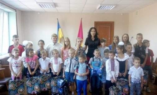 Акція «Крок до школи» пройшла в Південному районі Кам'янського