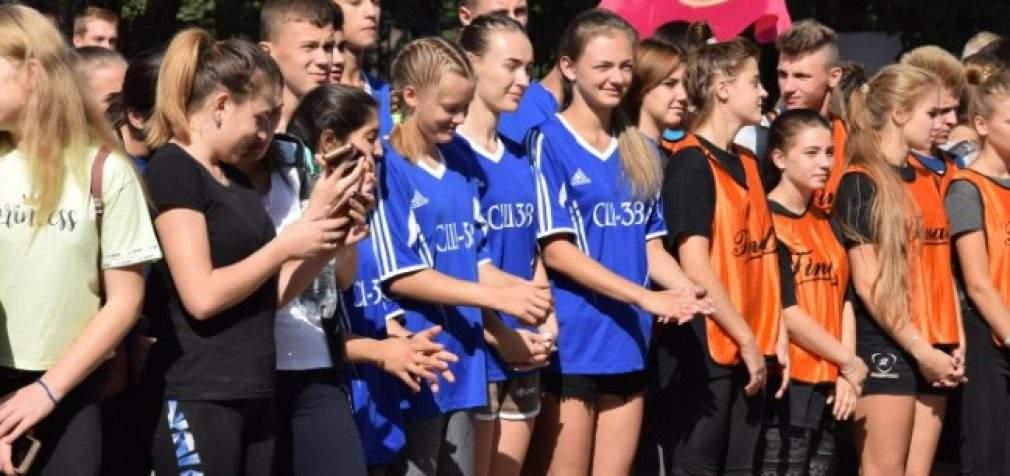 В Кам'янському вперше пройшла міська легкоатлетична естафета