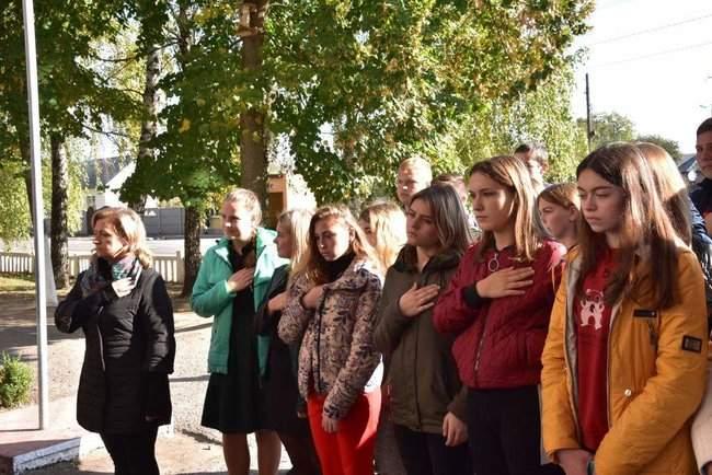 Мемориальную доску погибшему на Донбассе бойцу Юрию Стрельцову открыли на Полтавщине 04