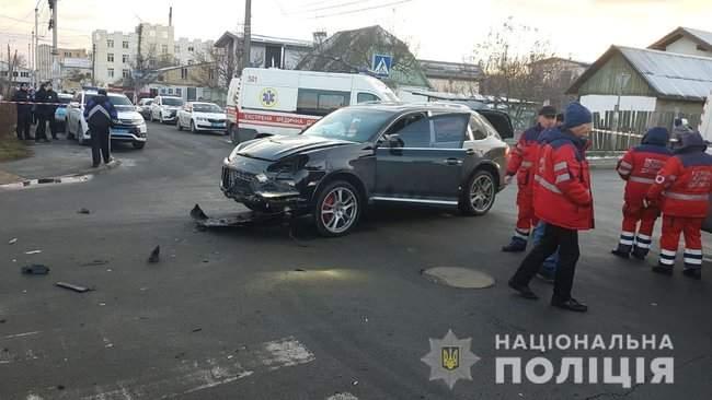 В Буче в результате ДТП с участием маршрутки погибли два человека, трое госпитализированы, - Нацполиция 04