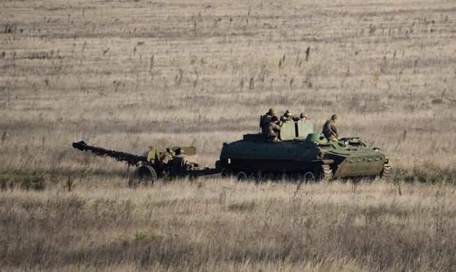 На Николаевщине 57-й ОМБр проводит командно-штабные учения 05