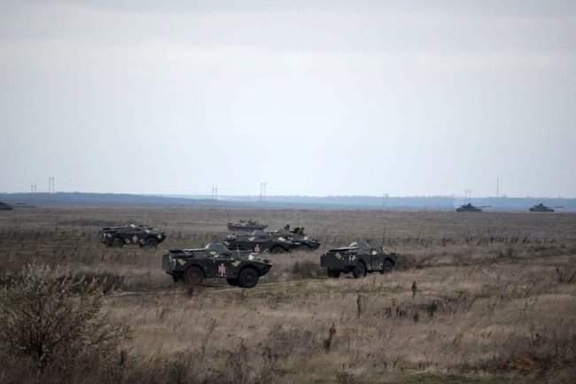 На Николаевщине 57-й ОМБр проводит командно-штабные учения 06