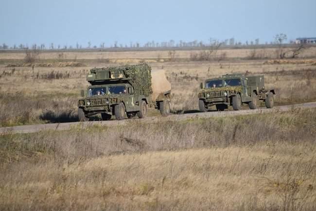 На Николаевщине 57-й ОМБр проводит командно-штабные учения 07