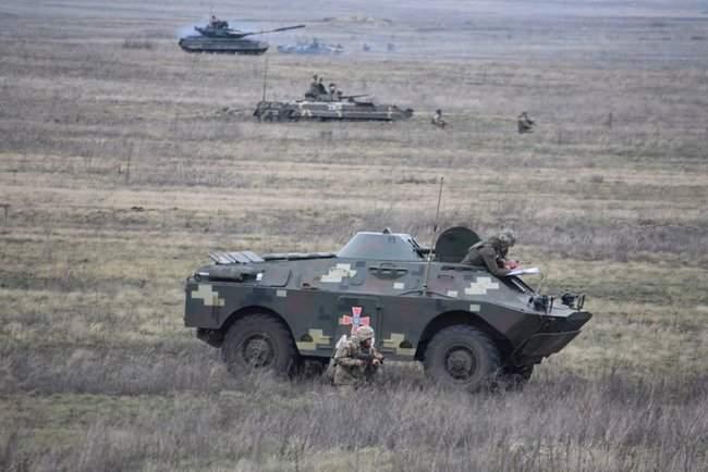 На Николаевщине 57-й ОМБр проводит командно-штабные учения 09