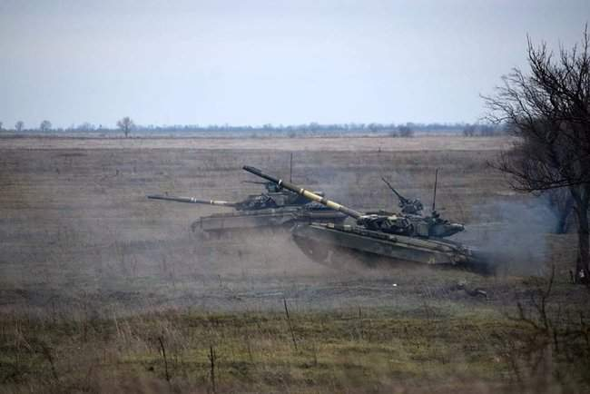 На Николаевщине 57-й ОМБр проводит командно-штабные учения 10