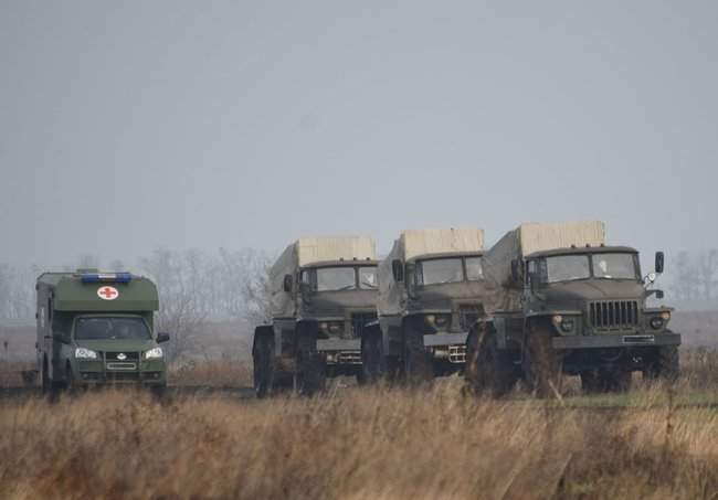 На Николаевщине 57-й ОМБр проводит командно-штабные учения 02