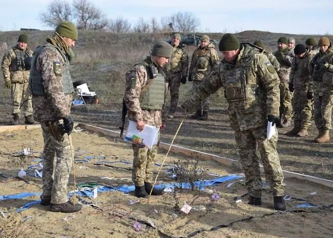 На Николаевщине 57-й ОМБр проводит командно-штабные учения 03