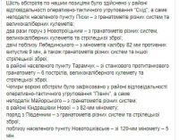 Наемники РФ за сутки 10 раз обстреляли позиции ВСУ на Донбассе, применив 120- и 82-мм минометы. Потерь нет, – штаб ОС