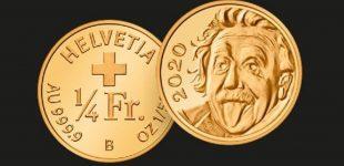 В Швейцарии отчеканили самую маленькую золотую монету в мире