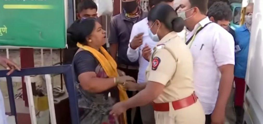 В Индии массовые беспорядки из-за слишком «жёстокого карантина»