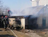 Под Днепром горела хозяйственная постройка, – ФОТО