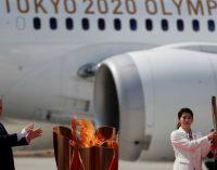 Японія припиняє демонстрацію олімпійського вогню через коронавірус
