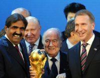 Росія і Катар заперечують звинувачення в купівлі за хабарі чемпіонатів світу з футболу